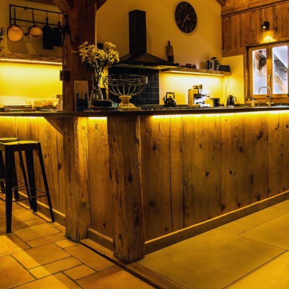 Le charme des cuisines en bois