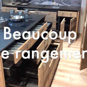 Suite vidéo Cuisine Vieux Bois – DESTOCKAGE -50% avant travaux