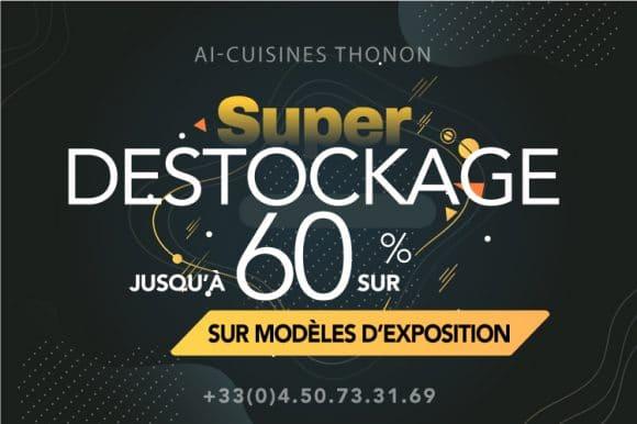 DESTOCKAGE NOLTE Thonon, jusqu'à 60% sur les modèles d'exposition