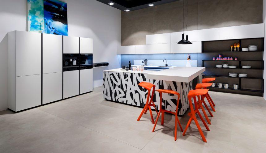 La cuisine design : haut de gamme, prestige et convivialité