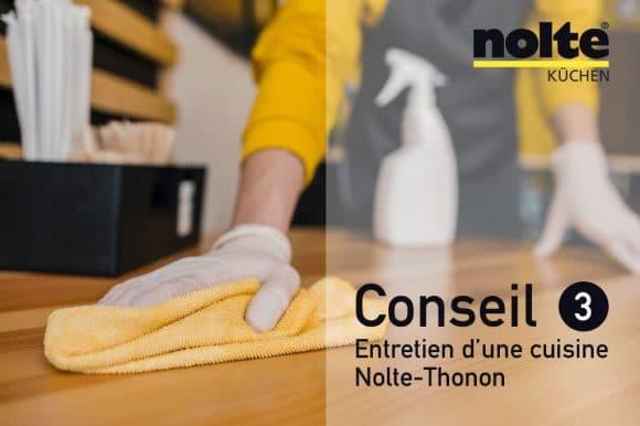Nettoyer les façades de cuisine en bois, massif ou plaqué