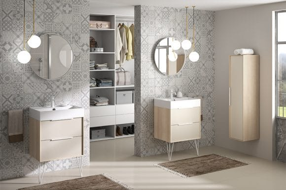 Meubles de salle de bains Origami – CEDAM