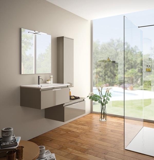 Meubles de salle de bains – collection Ten – CEDAM