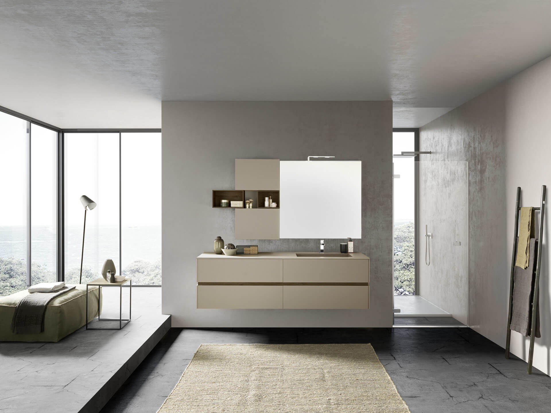 Salle de bain design - salle de bain moderne | Ai-Cuisines Thonon