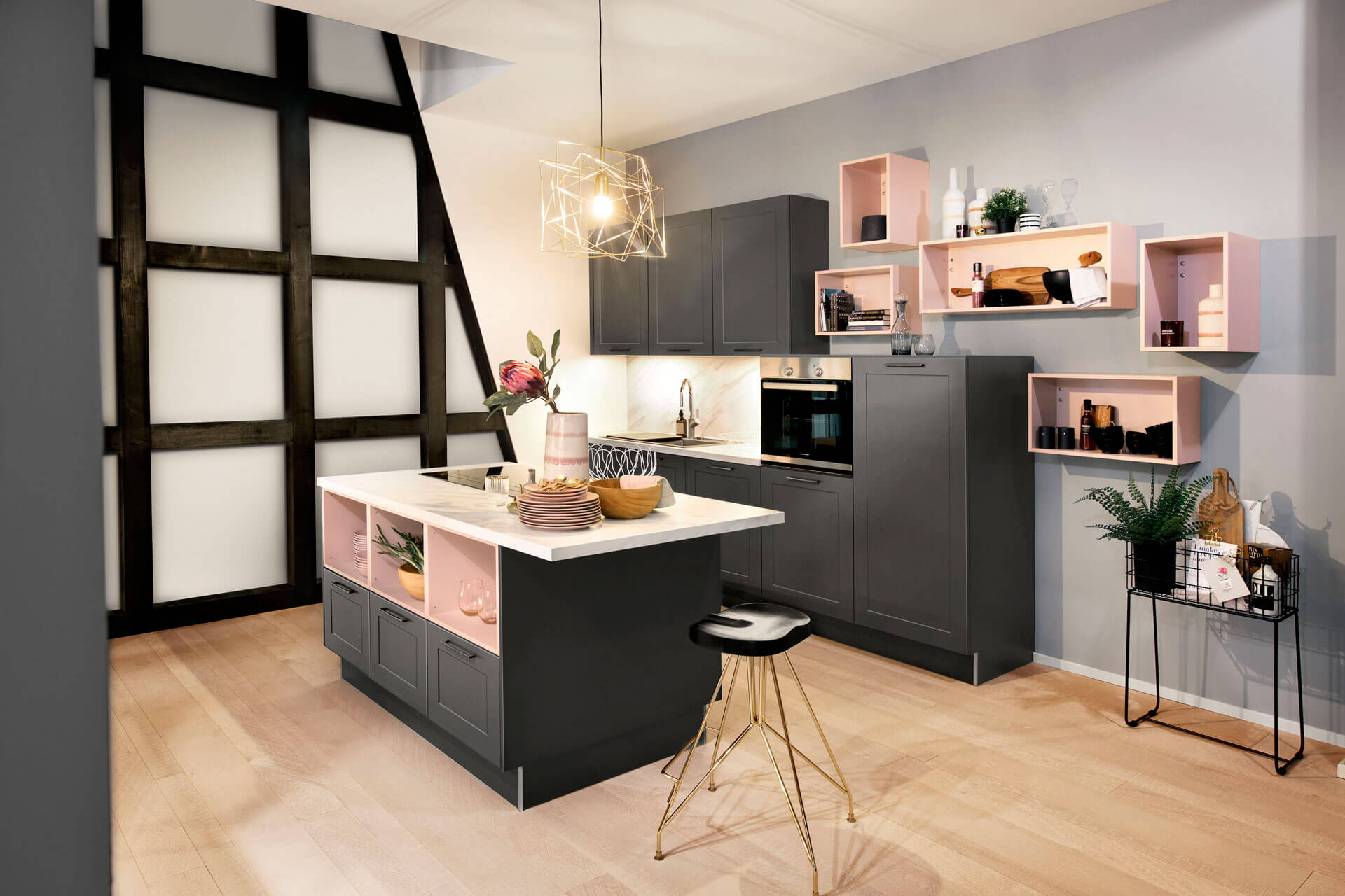 les couleurs tendances 2019 pour les cuisines ai cuisines thonon. Black Bedroom Furniture Sets. Home Design Ideas