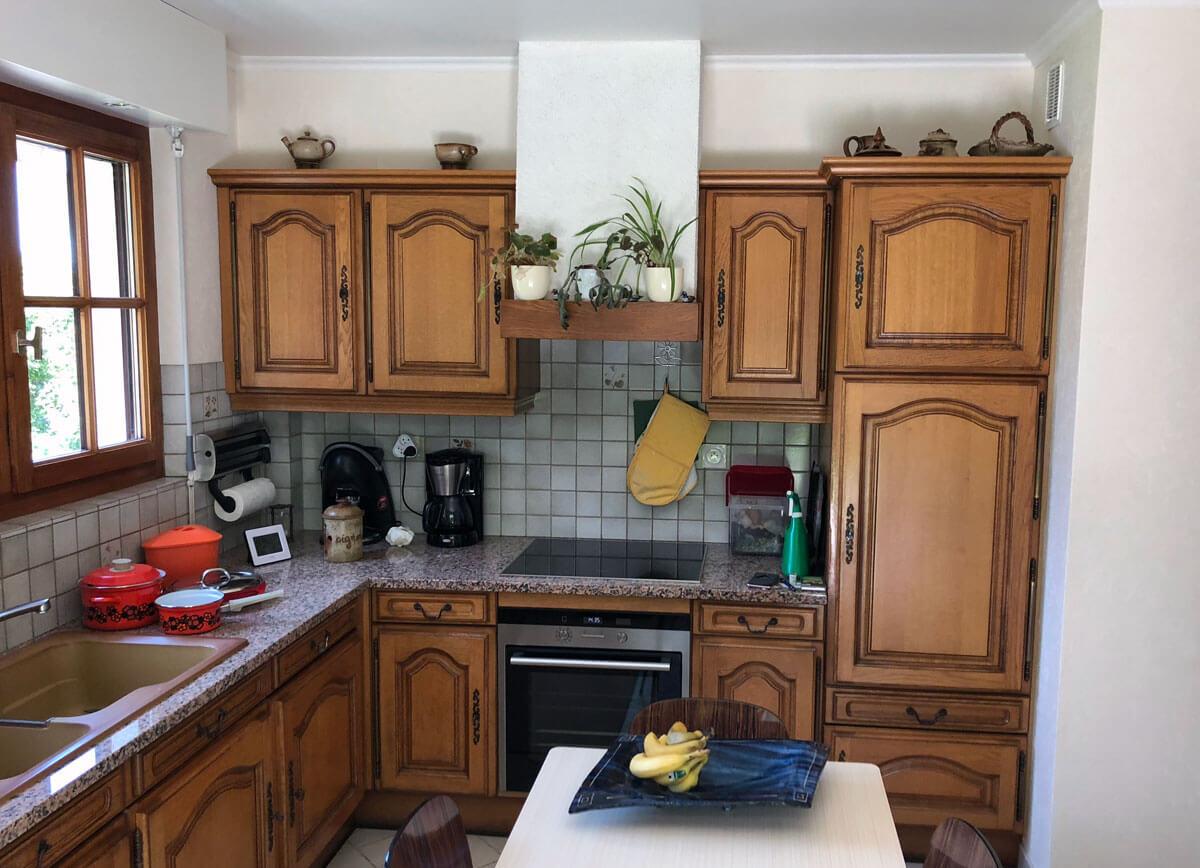 Facade Meuble De Cuisine Chapeau Gendarme rénovation cuisine à neuvecelle en haute-savoie | ai