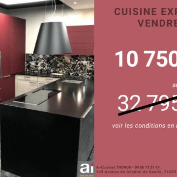 Bon plan : cuisine d'expo à vendre chez AI