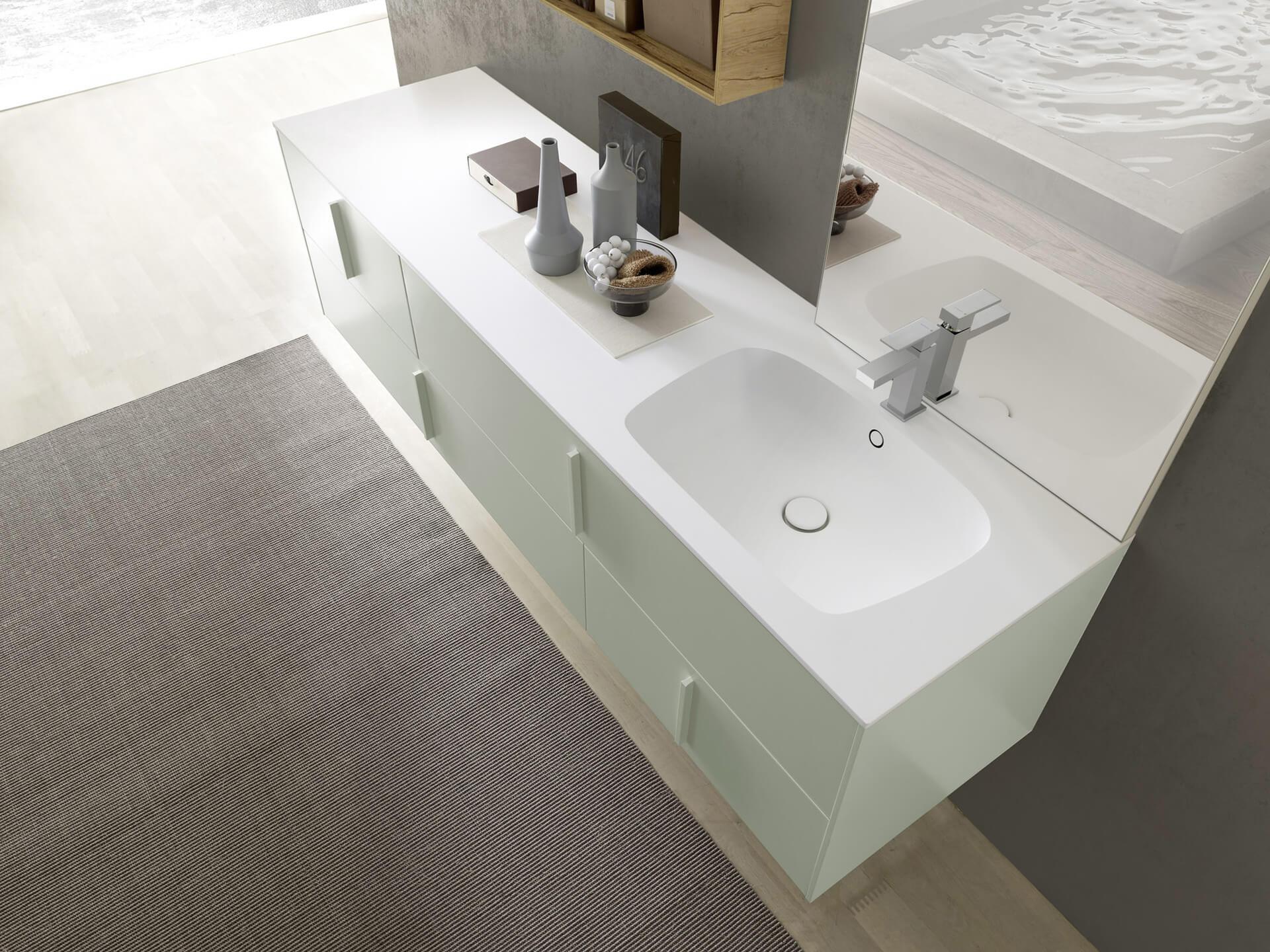 D couvrir les tendances salle de bains 2020 ai cuisines - Tendance couleur salle de bain 2020 ...