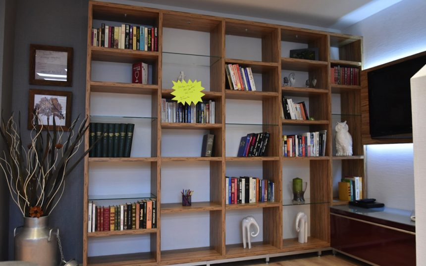 Bibliothèque TV – DESTOCKAGE avant travaux -50%